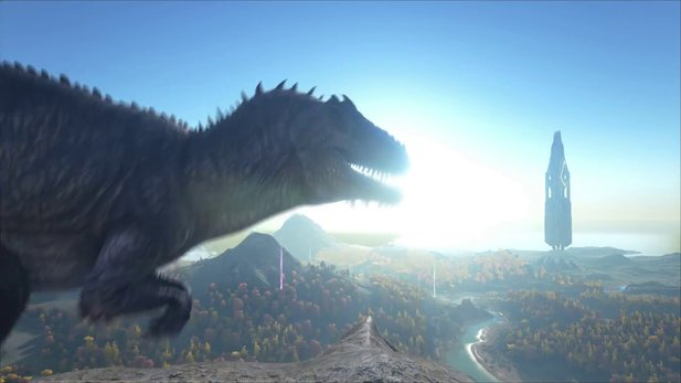 Ark: Survival Evolved - Gameplay-Trailer zeigt riesigen Giganotosaurus
