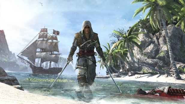In Assassin's Creed 4: Black Flag werden wir zum Piraten.