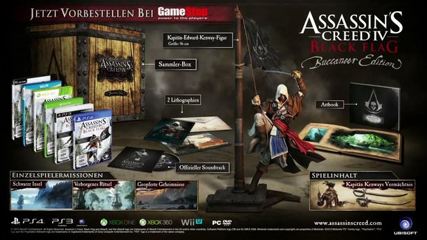 Assassin's Creed 4: Black Flag - Trailer zur Buccaneer-Edition