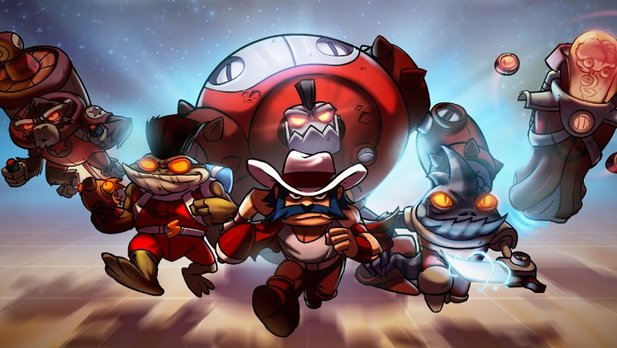 Das Multiplayer-Actionspiel Awesomenauts ist ab sofort Free2Play via Steam.