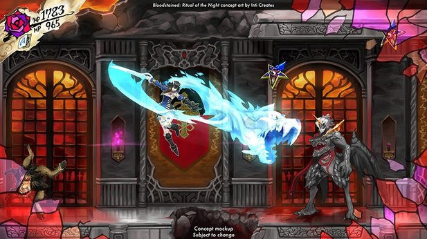 Bloodstained: Ritual of the Night - Off-Screen-Aufnahme: So spielt sich das Metroidvania