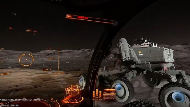 Elite: Dangerous - Horizons - Gameplay-Video aus dem SRV (Surface Recon Vehicle)