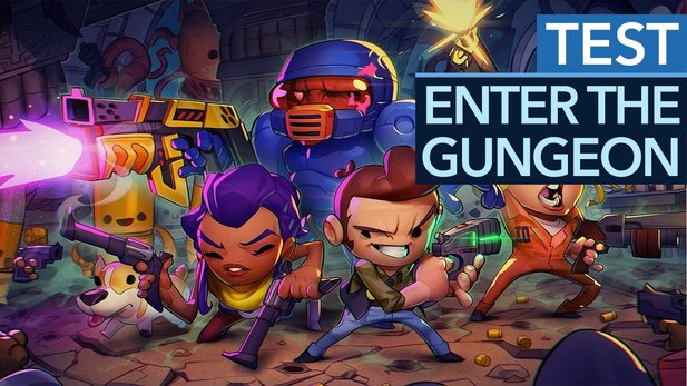 Enter the Gungeon - Test-Video zum knallharten Dungeon-Crawler
