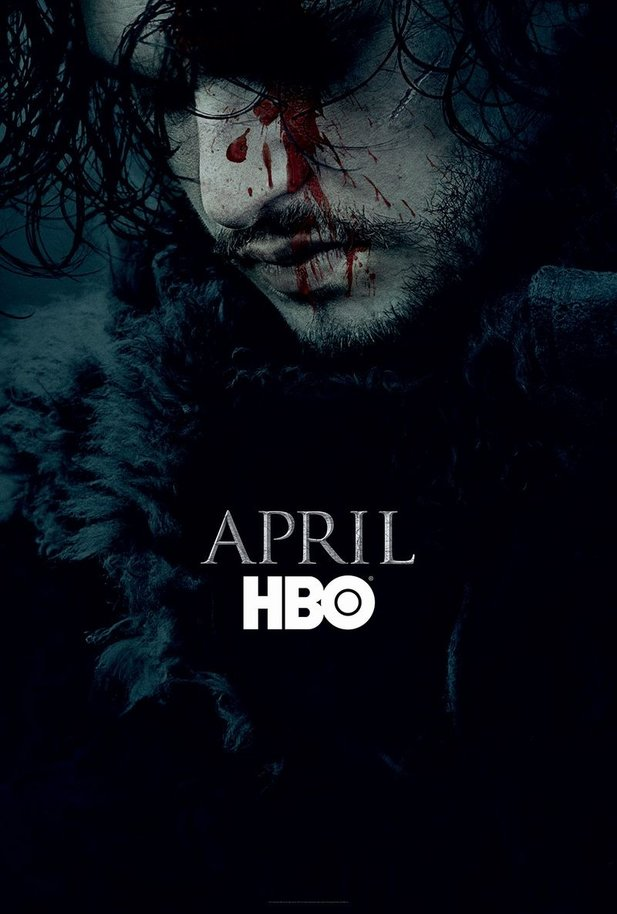 Das Poster zur 6. Staffel Game of Thrones