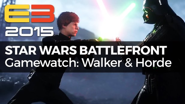 Gamewatch - Star Wars Battlefront - Video-Analyse zu Walker Assault & Survival