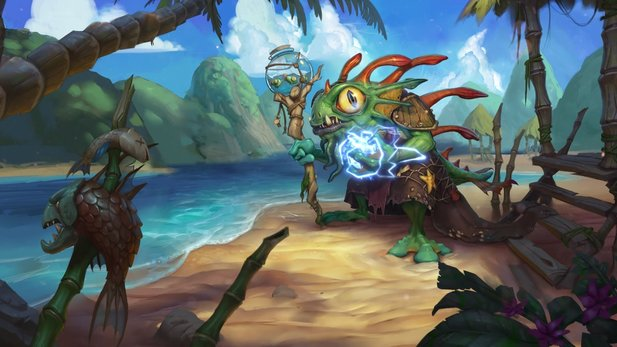 Hearthstone: Heroes of Warcraft - Neuer Schamanen-Held Morgl im Trailer