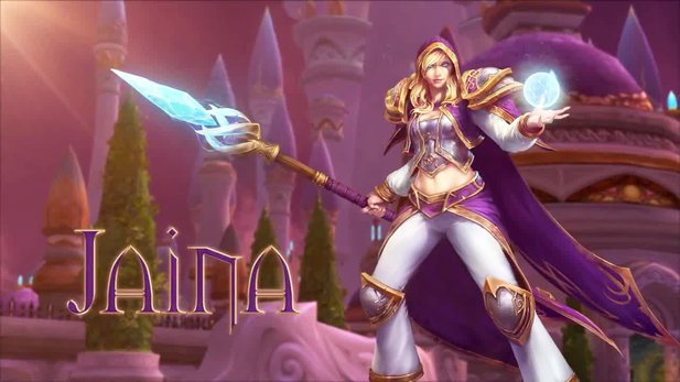 Heroes of the Storm - Charaktertrailer: Jaina Proudmoore aus Warcraft