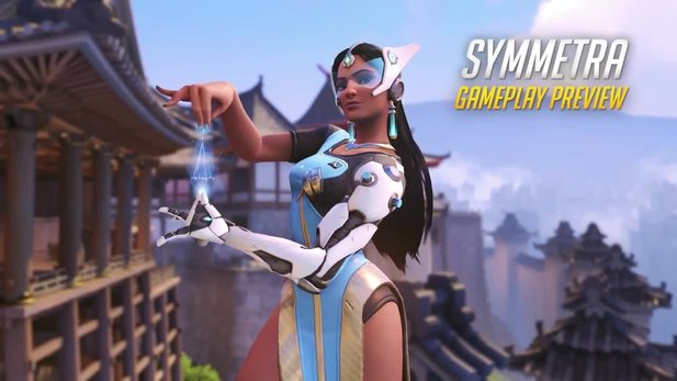 Symmetra ist der Star im neuen Overwatch-Comic »A Better World«.