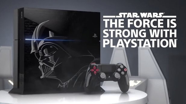 PlayStation 4 - Trailer zur Limited Edition »Darth Vader«