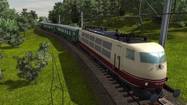Train Fever - Test-Video zur Bahn-Simulation