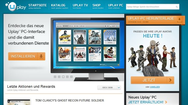 Ubisofts Uplay PC