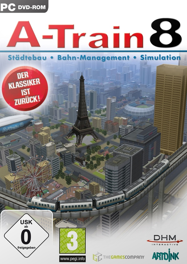 Cover zu A-Train 8