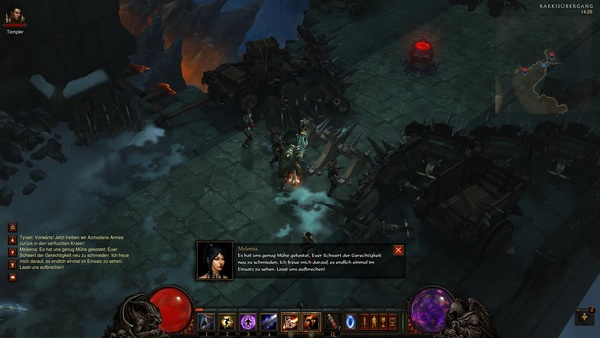 Diablo 3 - Komplettlösung : Der Rakkisübergang.