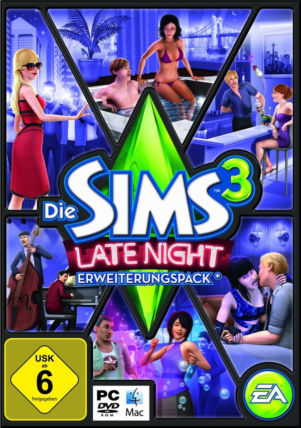 Cover zu Die Sims 3: Late Night