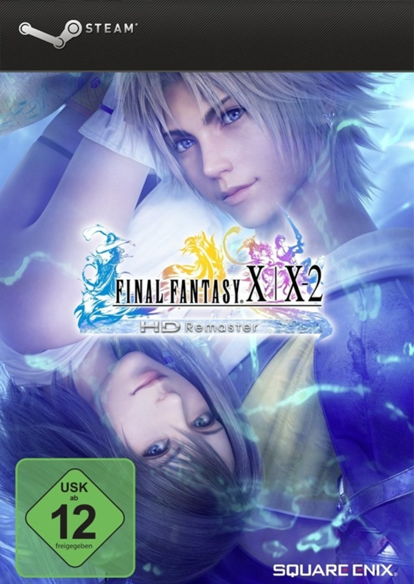 Cover zu Final Fantasy X/X-2 HD