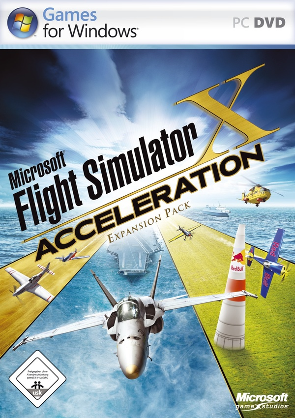 Cover zu Flight Simulator X: Acceleration Expansion Pack