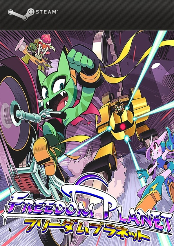 Cover zu Freedom Planet