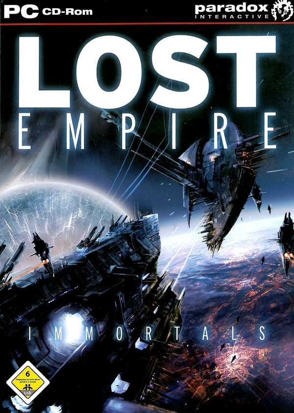 Cover zu Lost Empire: Immortals