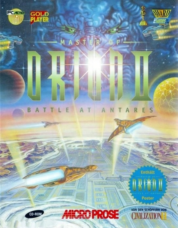 Cover zu Master of Orion 2: Battle at Antares