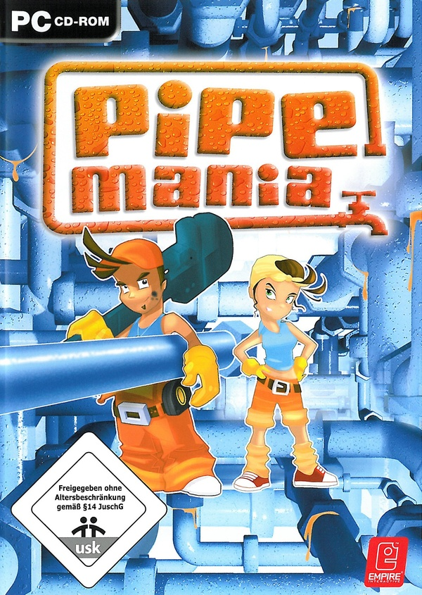 Cover zu Pipe Mania