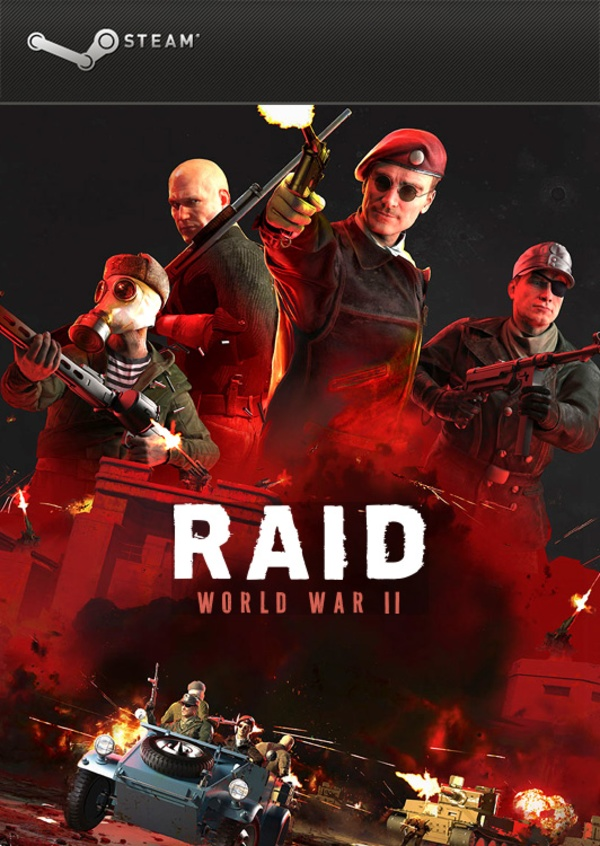 Cover zu Raid: World War 2