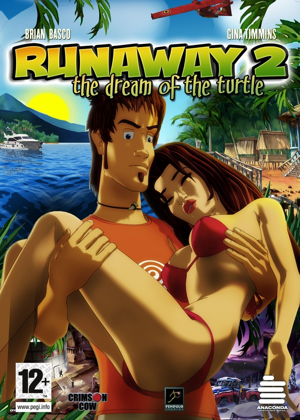 Cover zu Runaway 2: The Dream of the Turtle