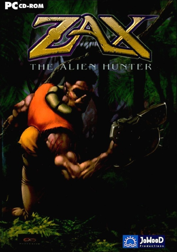 Cover zu Zax: The Alien Hunter