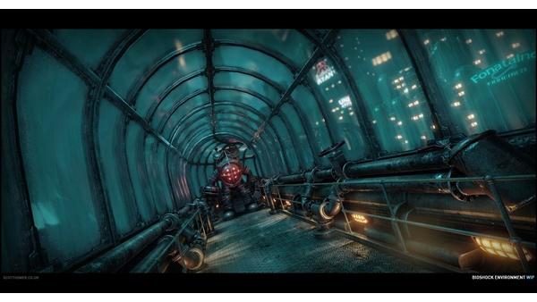 Screenshot zu Bioshock mit der CryEngine 3