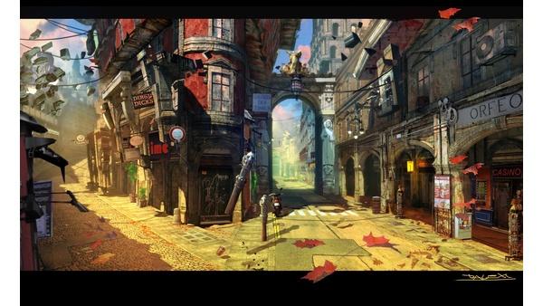 Screenshot zu DmC - Artworks und Konzeptzeichnungen