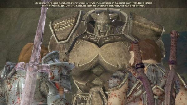 Screenshot zu Dragon Age: Origins - DLC: Golems von Amgarrak