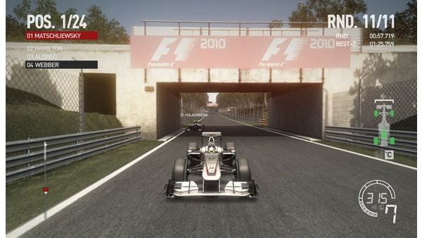 Screenshot zu F1 2010 - Screenshots