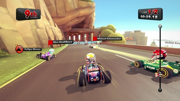 Screenshot zu F1 Race Stars - Screenshots