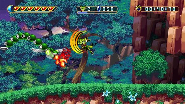 Bild der Galerie Freedom Planet 2 - Nachfolger zum High-Speed-Indie-Hüpfer im Sonic-Stil