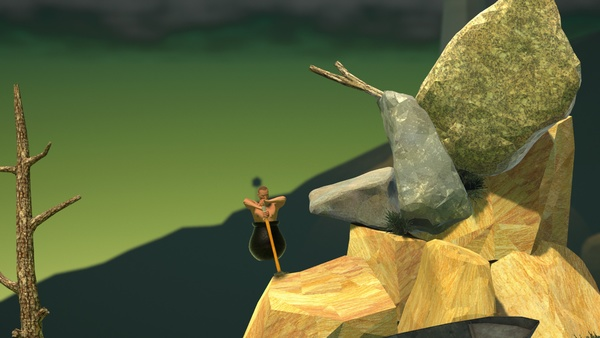 Screenshot zu Getting Over It with Bennett Foddy - Screenshots