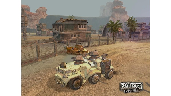 Screenshot zu Hard Truck: Apocalypse - Screenshots