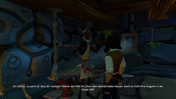 Screenshot zu Jack Keane und das Auge des Schicksals - Screenshots