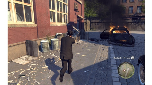 Screenshot zu Mafia 2 - PhysX-Effekte im Detail
