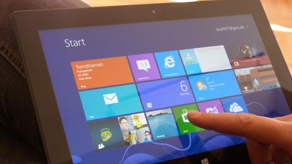 Bilder zu Microsoft Surface - Bilder