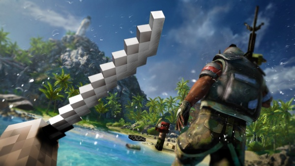 Screenshot zu Minecraft - Der offizielle Far-Cry-3-Mod