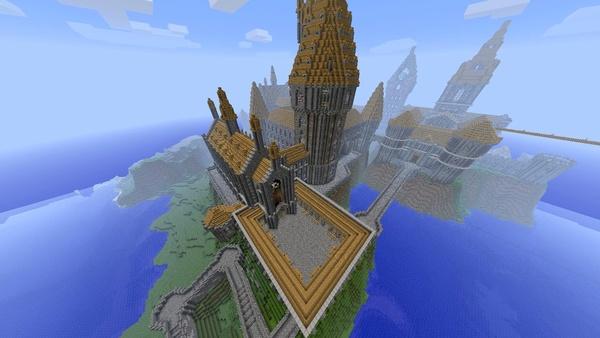 Bild der Galerie Minecraft-Großprojekte - Hogwarts aus Harry Potter