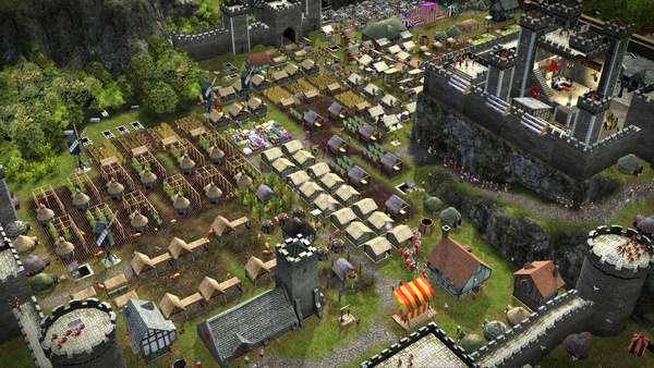 Screenshot zu Stronghold 2: Steam Edition - Scrrenshots aus der Neuauflage