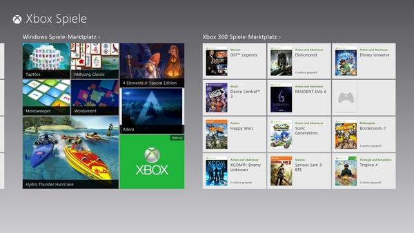 Bilder zu Microsoft Windows 8 - Neue Funktionen für Spieler und andere Profis