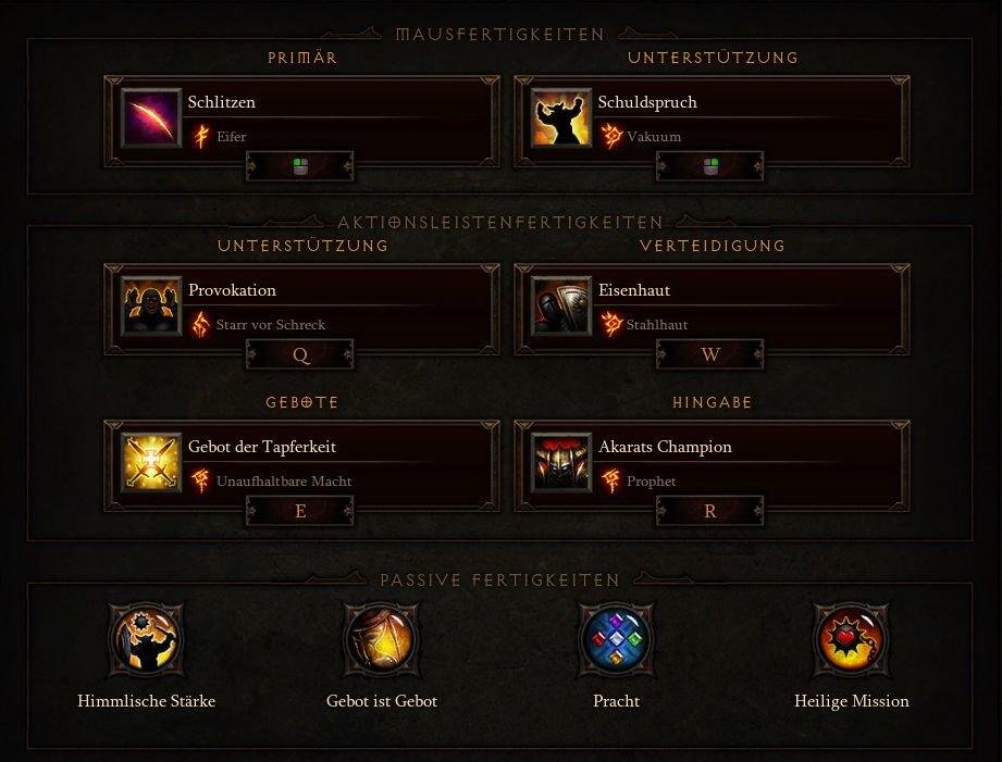 Diablo  Crusader Build Season