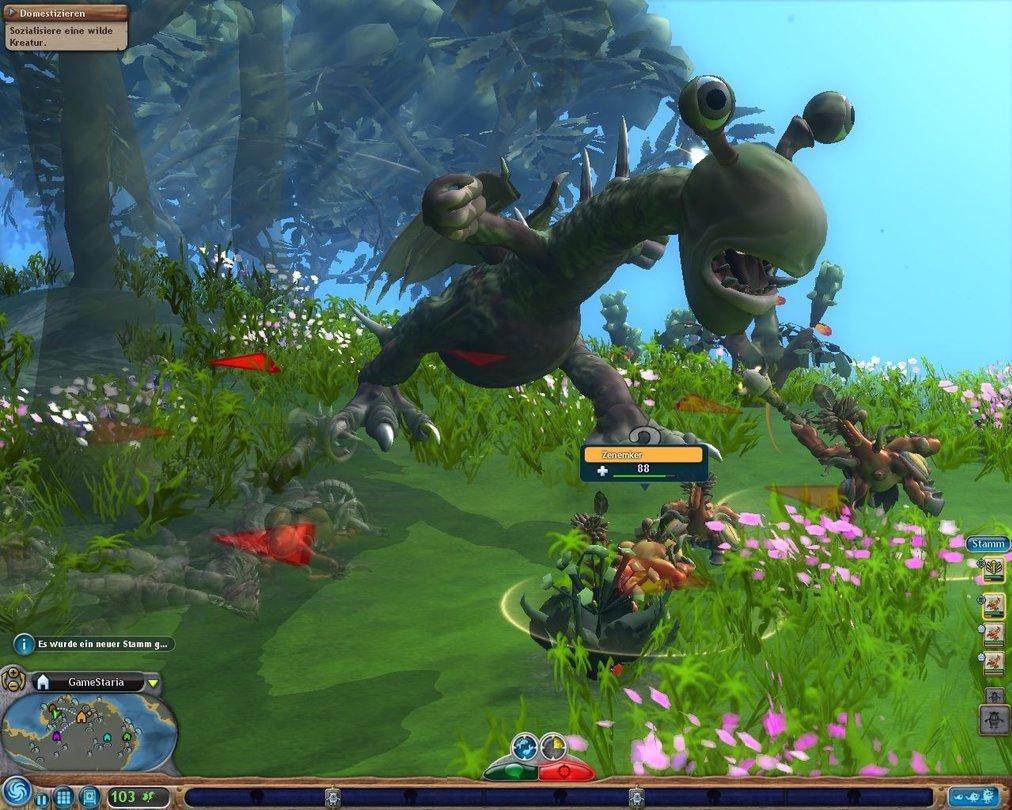 Seite 2: Spore - Review of EAs huge construction kit-game ...  Seite 2: Spore ...