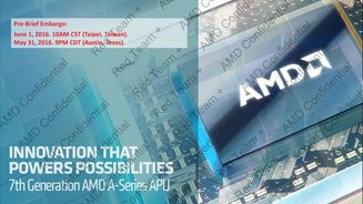 AMD APUs der 7. Generation (Quelle: AMD)