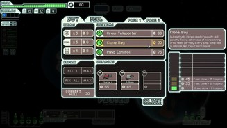 <b>FTL: Faster Than Light - Advanced Edition</b><br>In der Klonanlage werden gefallene Crew-Mitglieder automatisch wiederbelebt, zusätzlich wirken Hyperraum-Sprünge heilend.