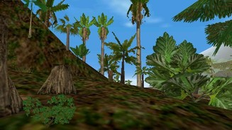 Vegetation in Trespasser
