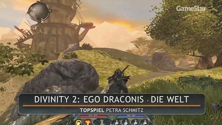 Divinity 2: Ego Draconis - Test-Video: Die Welt