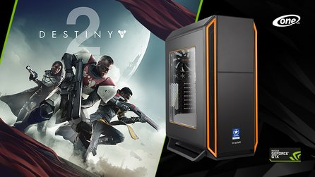 GameStar-PC-Bundle mit Destiny 2 - Bei allen Systemen mit GeForce GTX 1080/1080 Ti