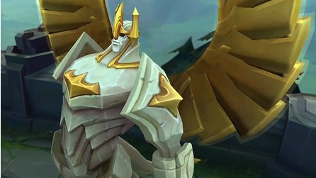 League of Legends - Ingame-Trailer stellt den überarbeiteten Champion Galio vor
